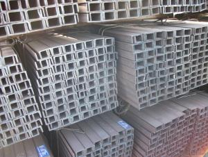 ss400 hot rolled structural mild carbon u steel channel bar in sale