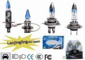 P43T halogen bulb H4 auto lighting system 24v