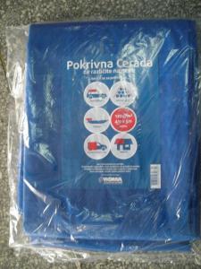 PE tarpaulin in roll blue blue tarpaulin in standard size