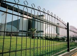 PVC plastic european style fence for sale