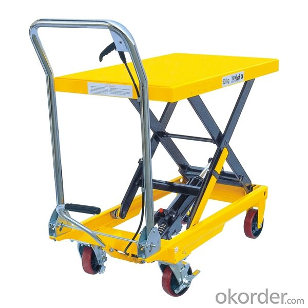 High Lift Pallet Truck with CE certificate