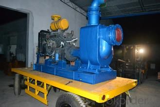 Horizontal centrifugal diesel dewatering pump from factory