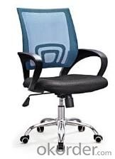 Mesh Chair Fabric Chair Stacking PU Office Chairs CN28B