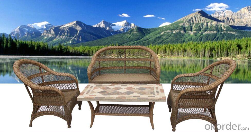 Popular Modern lesisure Outdoor Garden Sets