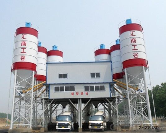 Concrete mixing batching plant  High quality  HZS120 Chinese manafacturer