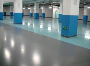 Concrete floor hardener is a pre-blended, non-metallic floor hardener