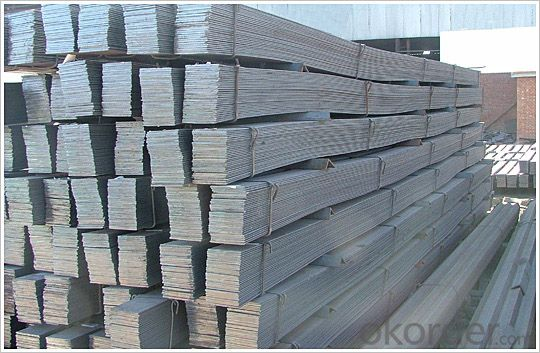 hot rolled high quality GB Q235 flat bar