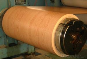 Wood pattern PPGI PPGL Prepainted steel coils