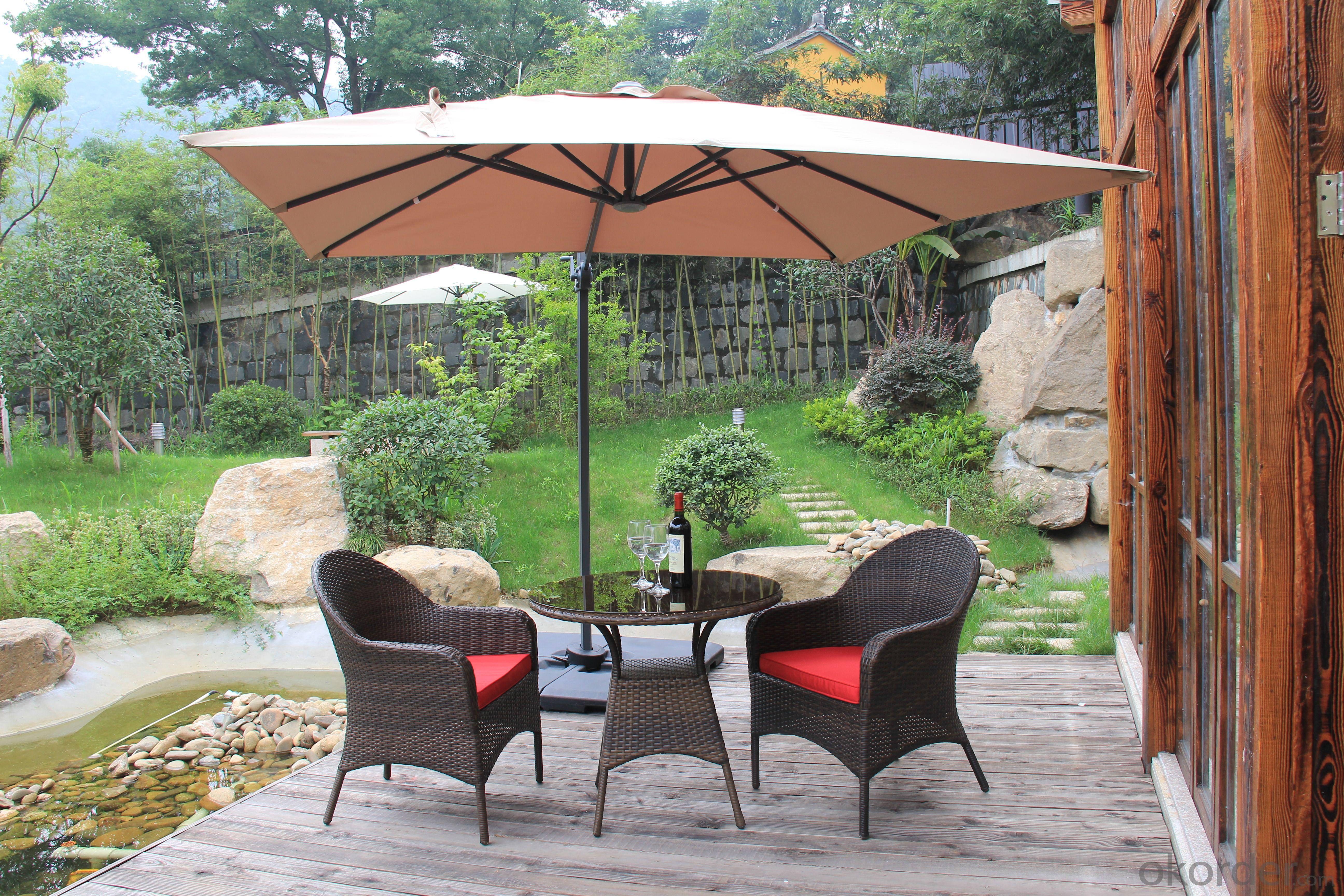 3PC Rattan Seater Outdoor Garden Furniture