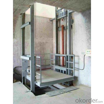 Guide Rails Chain Lift Platform