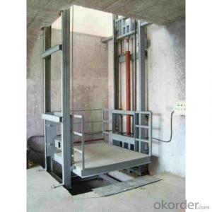 Guide Rails Chain Lift Platform