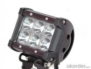 18W High Power Off Road Led Light Bar auto lighting system