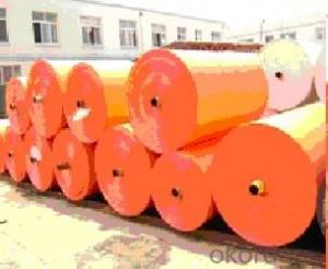 PE tarpaulin blue orange for middle east market