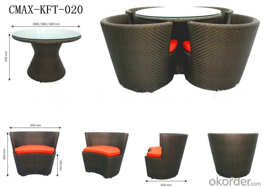 Leisure Ways Outdoor Furniture Garden Set CMAX-KFT-020
