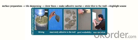 Adhesive Mortar for installing all types of floor and wall tiles