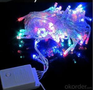 Christmas String Led Light CE&ROHS Holiday Light Led Colorful