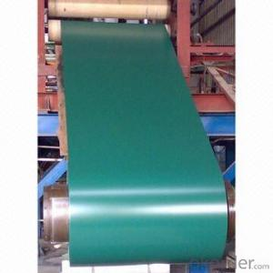 Color coated steel coils    white color,green color,red color