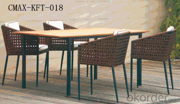 Professional Outdoor Rattan Furniture with Competitive Price CMAX-KFT-018