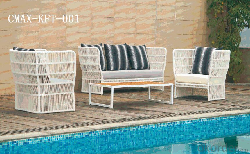 Rattan Outdoor Furniture with Competitive Price CMAX-KFT-001