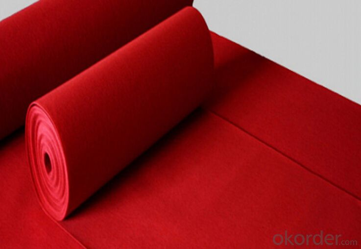 Cheap Celebrity Red Carpet, Carpet for Exhibition, Indoor Outdoor Carpet
