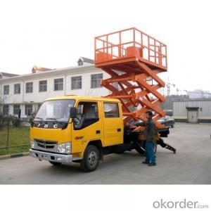 Truck Mounted Scissor Work Lift