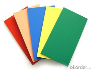 Colourful ACM Aluminium composite panel for wall cladding