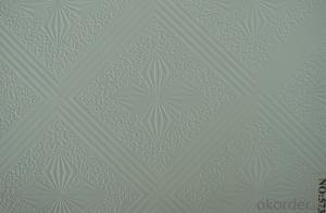 Vinyl Gysum Ceilng Board /Vinyl Gypsum Ceiling Tile New Design