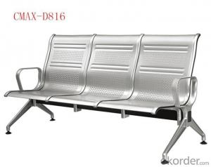 3- Seater Modern Design Stainless steel Waiting Chair CMAX-D816