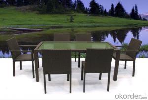 Toronto rattan dining table outdoor furniture