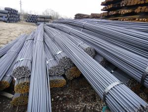 Steel Ribbed Bar For Construction Hot Rolled