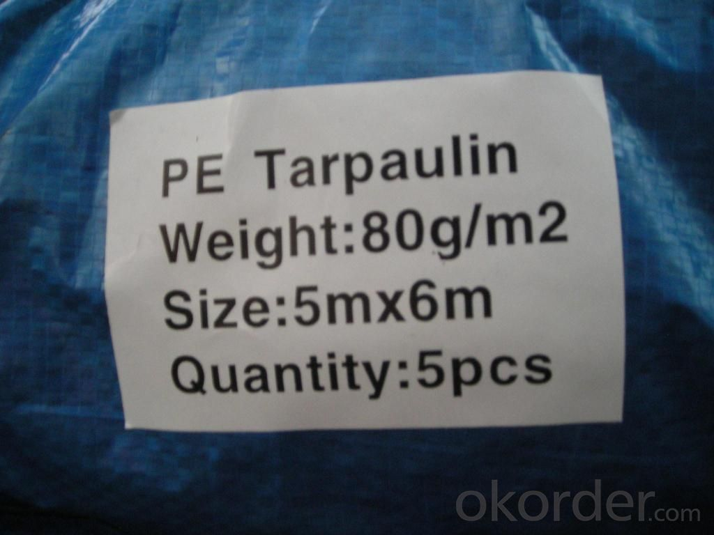 Waterproof PE/PP tarps coated tarpaulin for truck