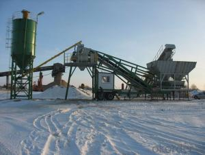 Trail Type Mobile Concrete Batching Plant new