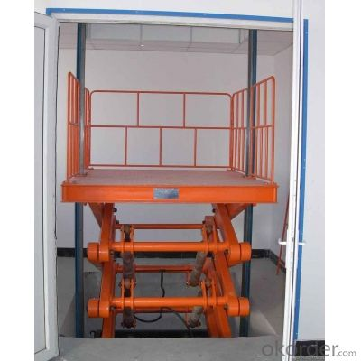 Stationary Scissor Lift SJG3-7