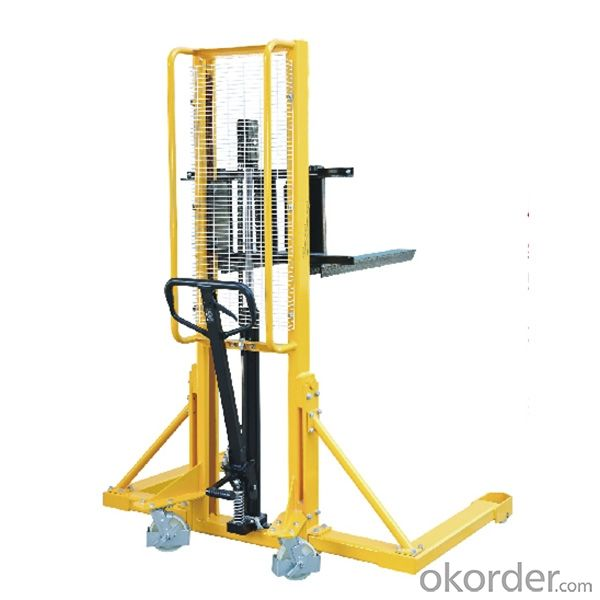 Good quality New High Quality 1.0ton Capacity Model HT manual forklift manual pallet stack