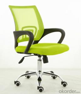 Mesh Fabric Chair Stacking PU Office Chairs CN1402