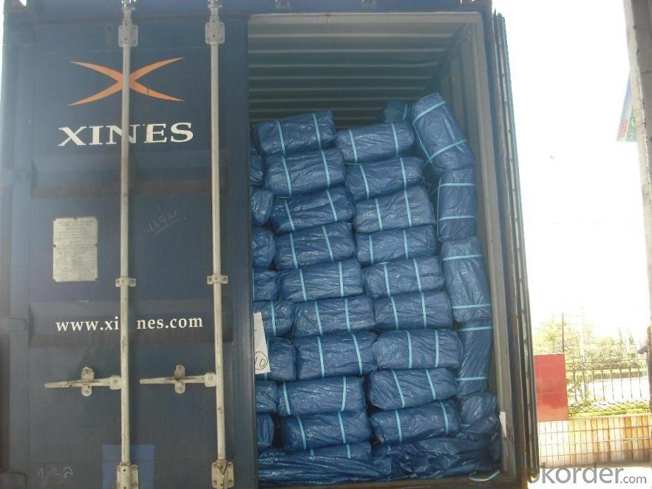 Ready made tarps PE tarps waterproof PE tarpaulin plastic sheet for Ethiopia market