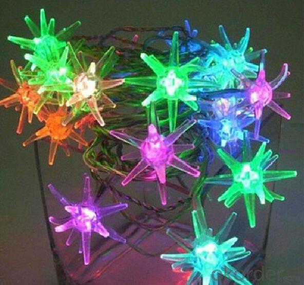220V/110v 50M 400LED Holiday Lights Colorful Christmas Lights Waterproof Snowflake Led String