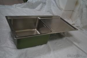 TCT8344S Kitchen Sink Stainless Steel Single Bowl