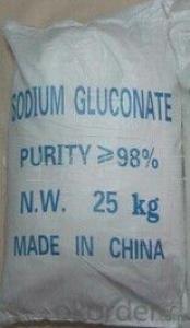 Sodium Gluconate is suitable to high temperature season