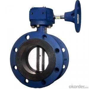 Ductile Iron wafer butterfly valves DN150