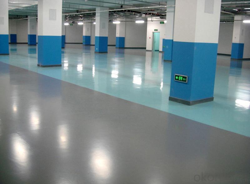 Concrete floor hardener a non-metallic floor hardener