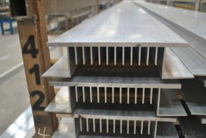 Aluminium Profiles Used on Heat Radiator