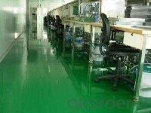Epoxy Resin and curing Agent of two components for concrete