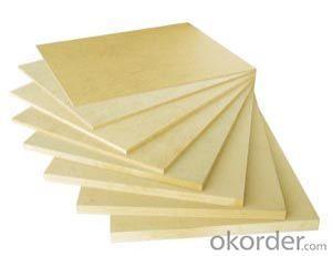 Plain  MDF Board E2 Grade Good sanding Light Color