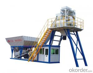 Module Type Mobile Concrete Batching Plants