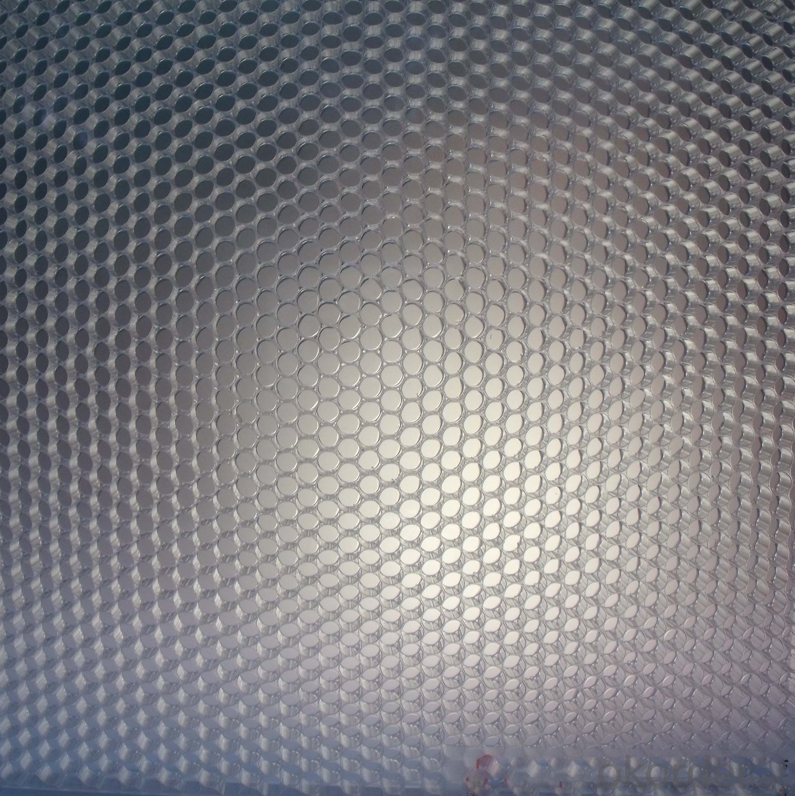 PMMA Honeycomb Decorative Panel with basic color Widely used in Shopping Mall