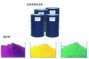 Brightening Agent for Colored Brick    agent