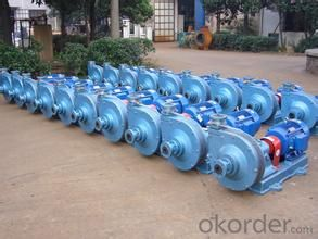 Horizontal pump for slurry CNBM From China
