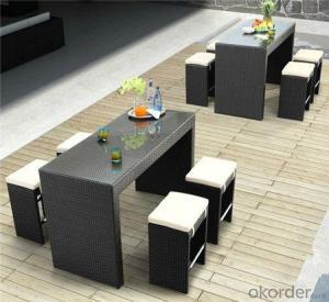 Leisure Ways Outdoor Rattan Bar Set CMAX-KFT-010