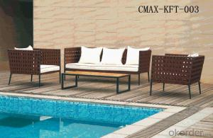 Professional Outdoor Rattan Furniture with Competitive Price CMAX-KFT-003